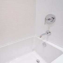 1-bath tub